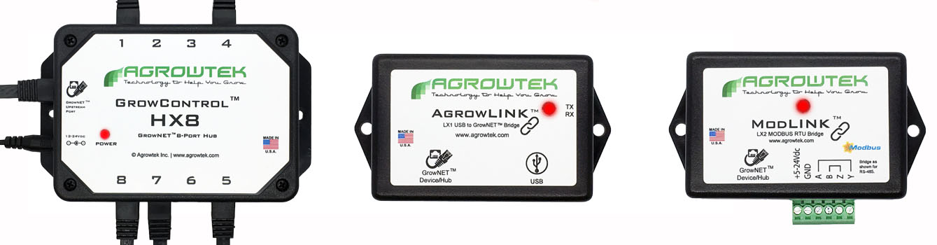 Agrowtek GrowControl Greenhouse Controllers